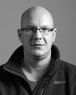 Andreas Saarinen : Distributionselektriker